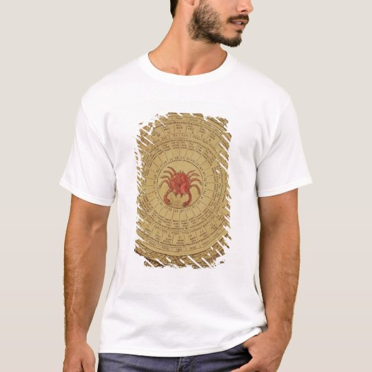 Astrological table of Cancer T-Shirt