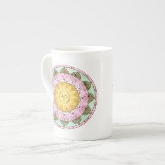 Astrological Wheel with Sun Tea Cup