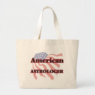 Astrólogo americano bolsa tela grande