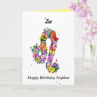 Astrology Birthday Card