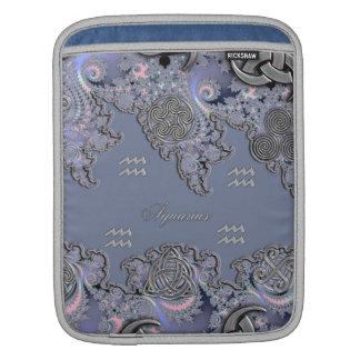 Astrology ~ Celtic Aquarius Mystical Fractal iPad Sleeve