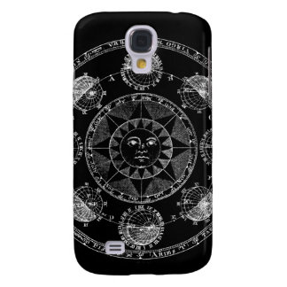 Astrology Circle Galaxy S4 Cover