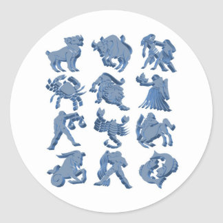 Astrology Classic Round Sticker