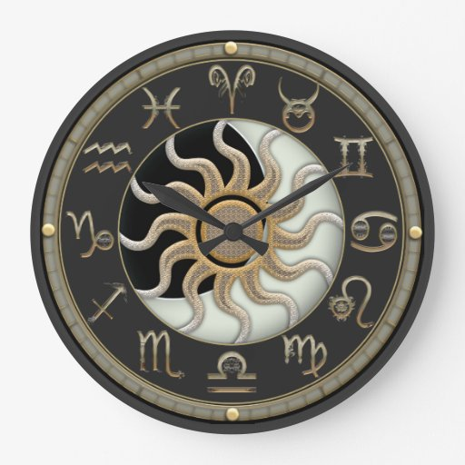 Astrology Round Wallclock