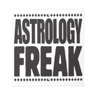 Astrology Freak Scratch Pad