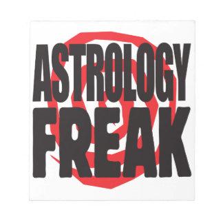 Astrology Freak Memo Note Pads