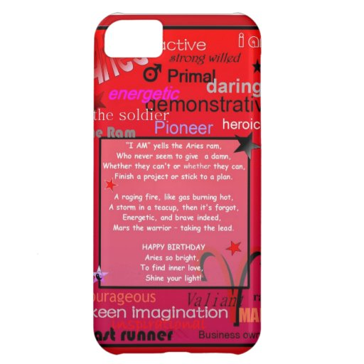 ASTROLOGY GREETING iPhone 5C CASES