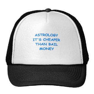 astrology mesh hats