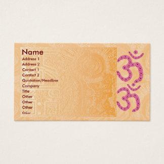 Astrology n Healing Practioner Business Card