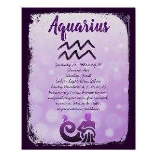 Astrology Sign Aquarius Horoscope Zodiac Symbol