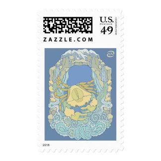 Astrology Sign Cancer Stamp