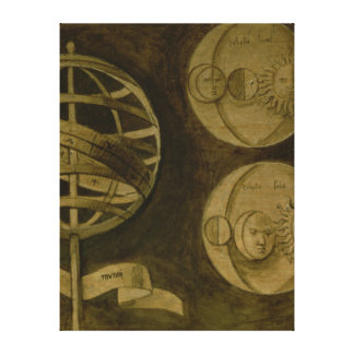 Astrology: Various Instruments and Diagrams Canvas Print