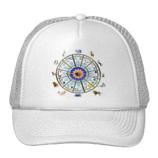 Astrology - ZODIAC-  Signs Mesh Hats