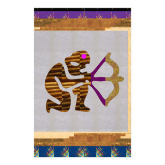 Astrology Zodiac Symbols Tantrik Healer Guru BLESS Stationery Paper