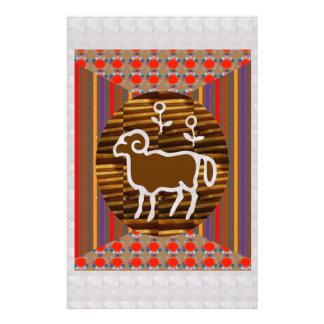 Astrology Zodiac Symbols Tantrik Healer Guru BLESS Customized Stationery