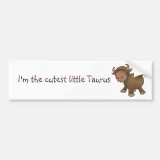 Astrologybaby Taurus - dark skin Bumper Sticker