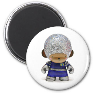 AstroMunny! 2 Inch Round Magnet