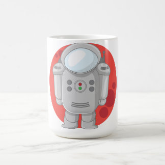 Astronaught's - Mars Classic White Coffee Mug