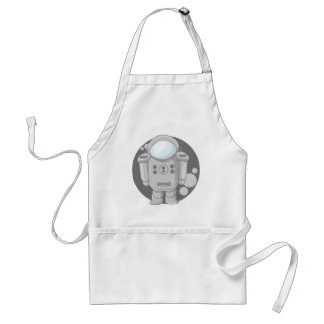 Astronaught's - Moon Adult Apron