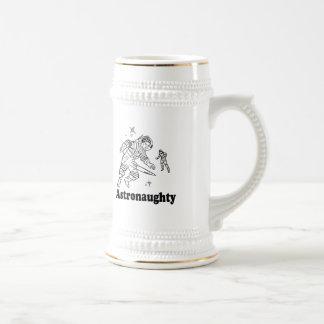ASTRONAUGHTY T-shirt Mugs