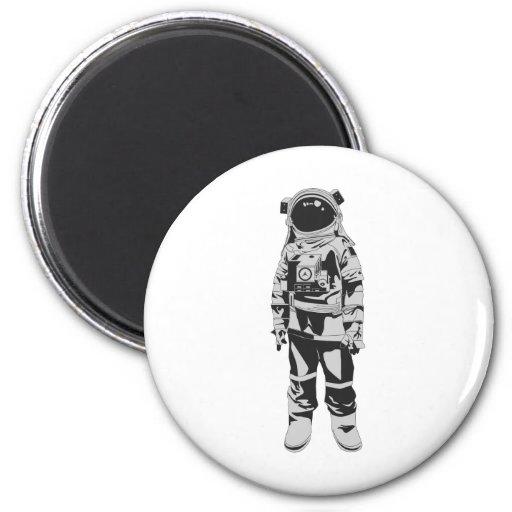 Astronaut 2 Inch Round Magnet