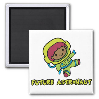 Astronaut 2 Inch Square Magnet