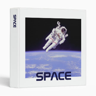 Astronaut 3 Ring Binder