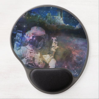Astronaut - A Job with A View Gel Mouse Pad