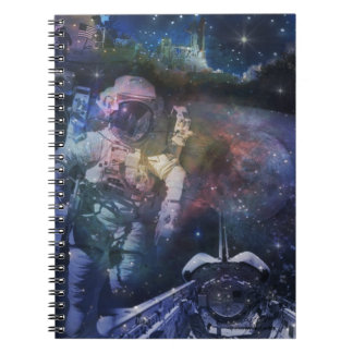Astronaut - A Job with A View Notebook