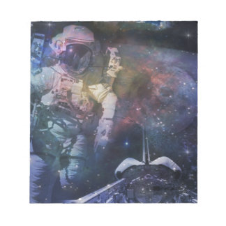 Astronaut - A Job with A View Notepad