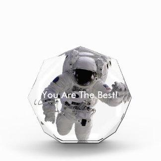 Astronaut Acrylic Award