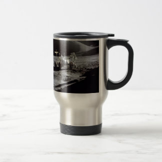 Astronaut and Rover 15 Oz Stainless Steel Travel Mug