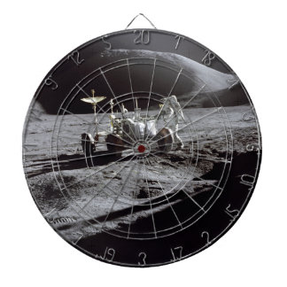 Astronaut and Rover Dart Board