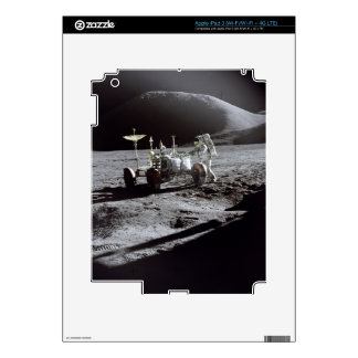 Astronaut and Rover iPad 3 Decal