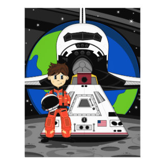 Astronaut and Space Shuttle Flyer