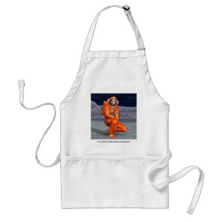 Astronaut Adult Apron