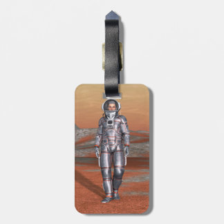 Astronaut Bag Tag