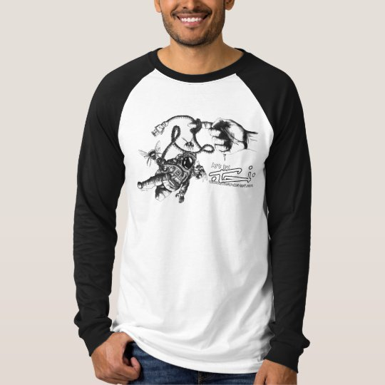 Astronaut & Bees T-Shirt by Tai