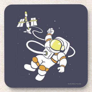 Astronaut Beverage Coaster