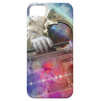 Astronaut Boombox iPhone SE/5/5s Case