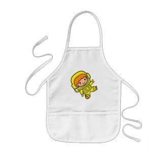 astronaut boy 1 apron