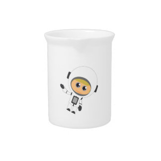 Astronaut Boy Drink Pitchers