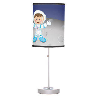 Astronaut boy table lamp