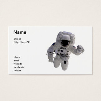 Astronaut Business Card
