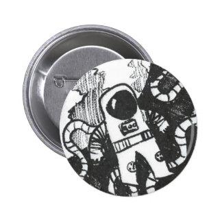 Astronaut Button