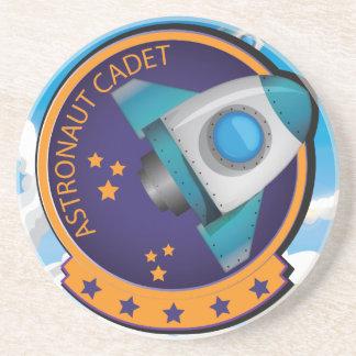 Astronaut Cadet Badge Drink Coaster