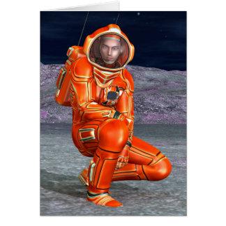Astronaut Card