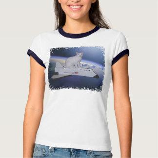 Astronaut Cat (Spirit) on Space Shuttle Shirt