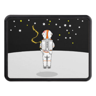 Astronaut Caught Short Weeing in Space Hitch Cover