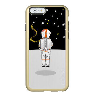Astronaut Caught Short Weeing in Space Incipio Feather® Shine iPhone 6 Case